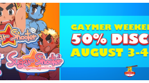 "To celebrate GaymerX event, all of Dudedle Studio's games will be 50% off this weekend! [fancy_link color=""black"" link=""http://www.dudedlestudio.com/2011/sugar-shooter-2/""] Sugar Shooter 2 [/fancy_link] $20 -> $10 [fancy_link color=""black"" link=""http://www.dudedlestudio.com/2011/sugar-shooter/""] Sugar Shooter[/fancy_link] […]"